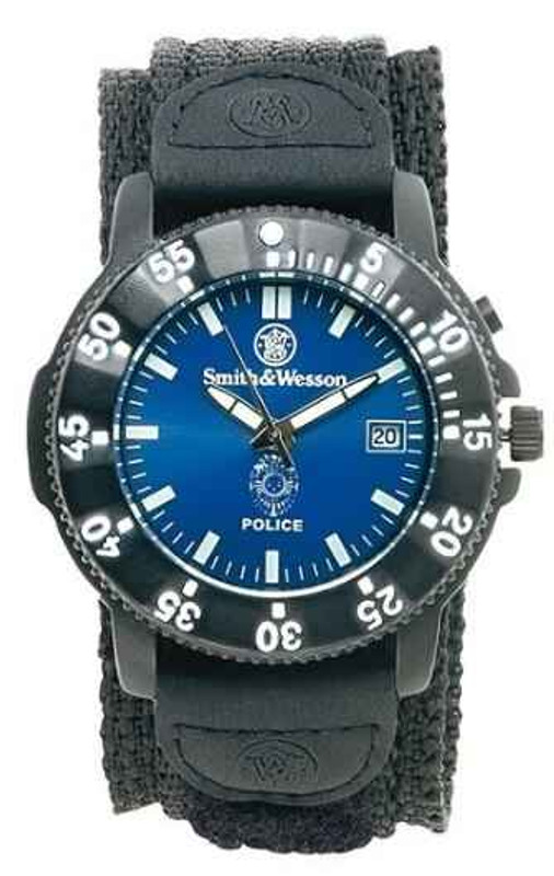 Smith and Wesson Police Watch 455-P 024718145556
