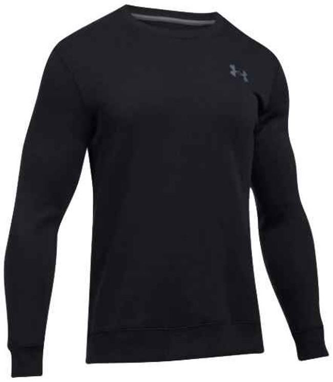 Under Armour Rival Solid Fitted Crew 1302854