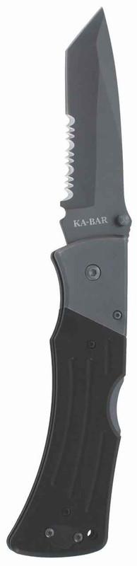 Ka-Bar Knives G10 MULE Tanto Serrated 3065 617717230653