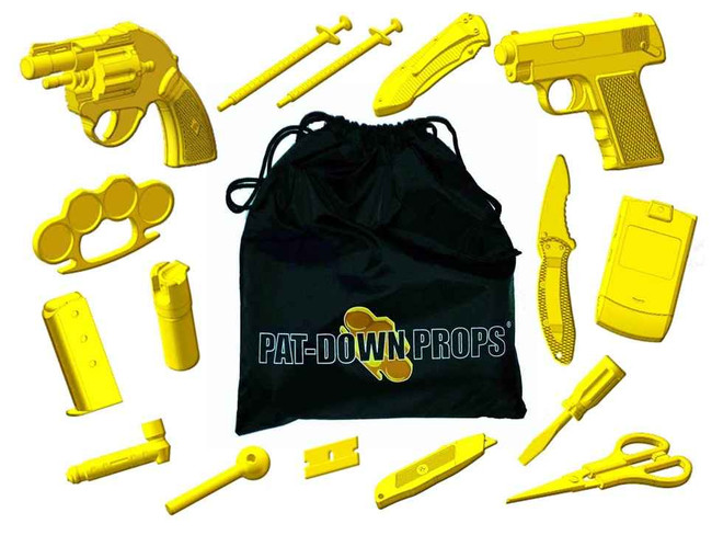 Boydd Products Pat Down Props PDP001 013964749090