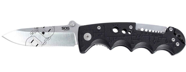 SOG Kilowatt Foldable Knife EL01-CP 729857994309