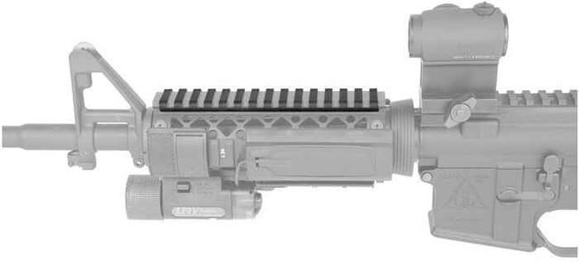 Blackhawk Low Profile Rail Cover 71RL00