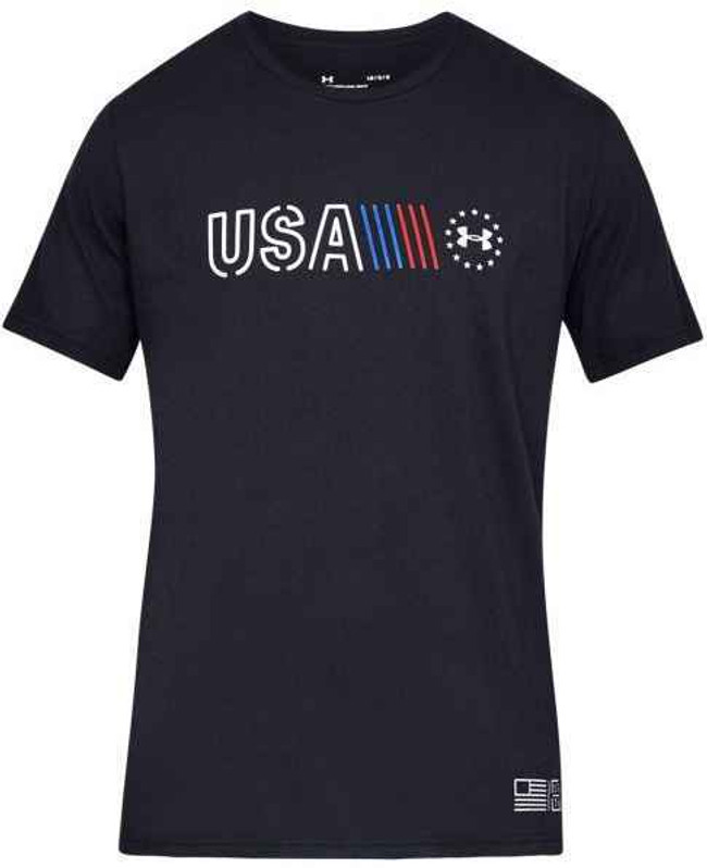 Under Armour Freedom USA Banner T-Shirt 1327558