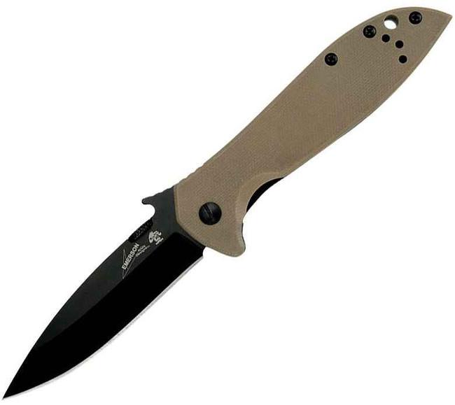 Kershaw CQC-4K Emerson Wave Folding Knife 6054BRNBLK 87171037592
