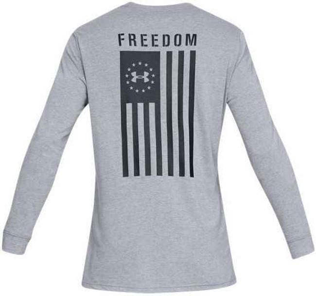 Under Armour Freedom Flag Long Sleeve T-Shirt 1333369