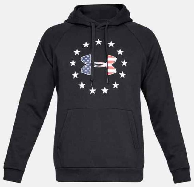 Under Armour Freedom Rival Fleece Logo Hoodie 1331410