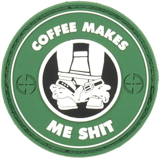 LA Police Gear Coffee Makes Me Sht Patch PATCH-COFFEE