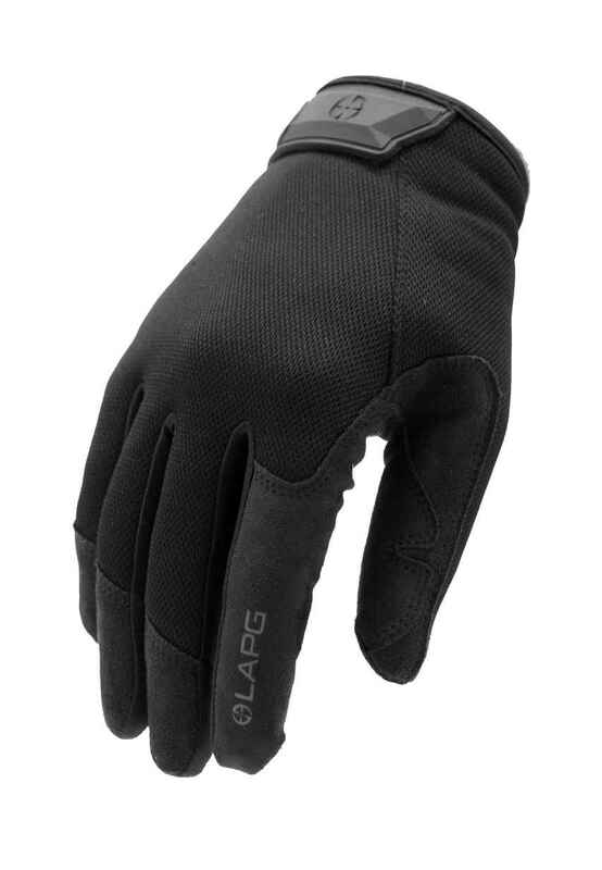 LA Police Gear Core Shooting Glove - Black