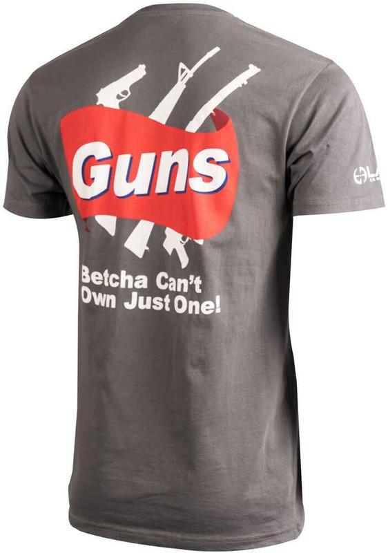 LA Police Gear Mens Guns T-Shirt TS-GUNS