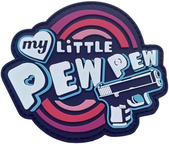 LA Police Gear My Little Pew Pew Patch PATCH-MLPP