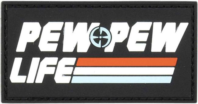 LA Police Gear Pew Pew Life Patch PATCH-PEWPEW