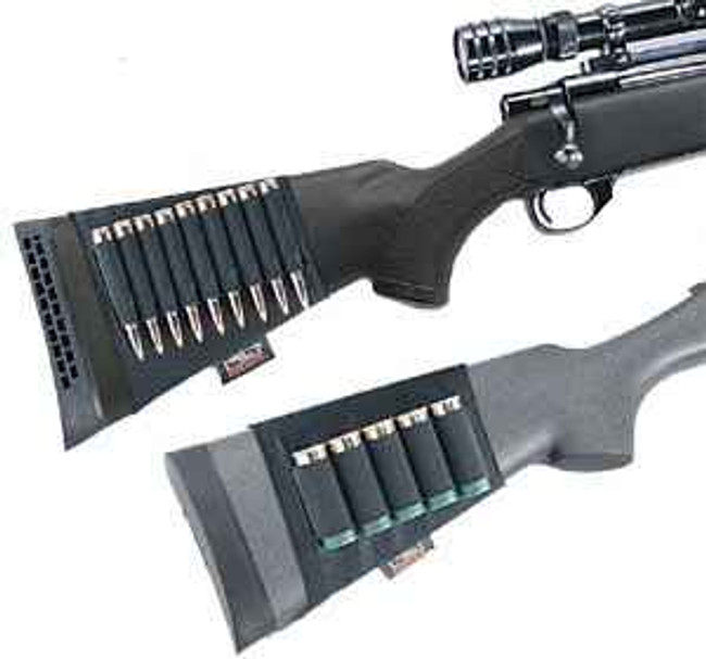 Uncle Mikes Buttstock Shell Holder BUTTSHELL