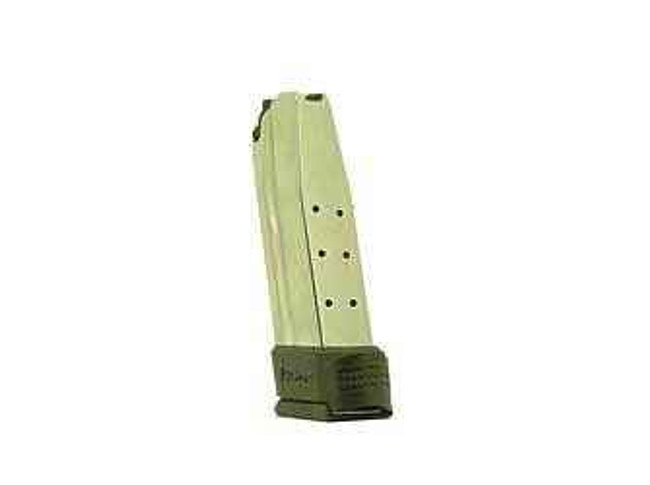 Springfield Armory Mag 45 ACP 10Rd Stainless with Black Sleeve Extension Compact XD XD4547 XD4547 706397872052