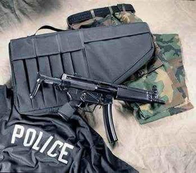 Uncle Mikes Tactical Submachine Gun Case 52101-UN 43699521012