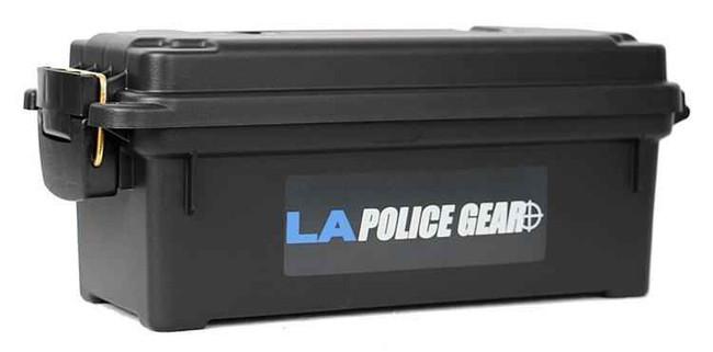 LA Police Gear Black Shot Shell Box 121272 024099812122