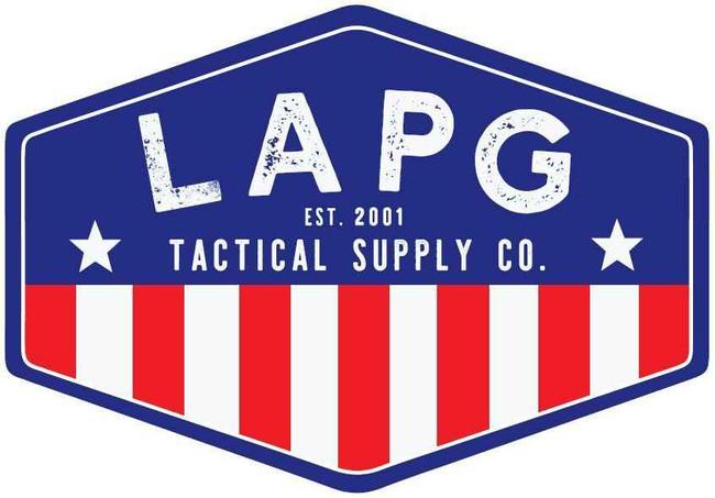 LA Police Gear Tac Supply Flag Sticker TAC-FLAG 859965411002