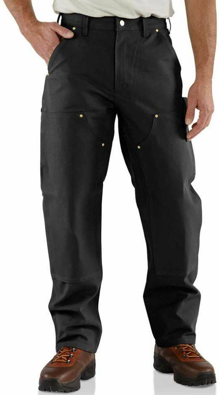 Carhartt Firm Duck Double-Front Work Dungaree B01-CH