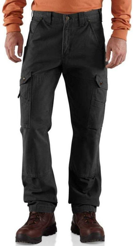 Carhartt Cotton Ripstop Relaxed Fit Double-Front Cargo Work Pant B342