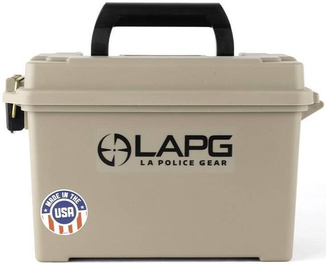 LA Police Gear Desert Tan .50 Cal Ammo Can AMMO-BOX-DESERT 641606865817