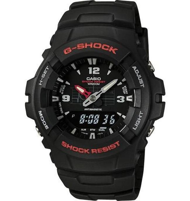 Casio G100-1B G-SHOCK ANA-DIGI Watch G100-1B 079767674106