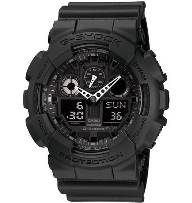 Casio GA100-1A1 Ana-Digi 3-Eye G-Shock Watch GA100-1A1 079767443849