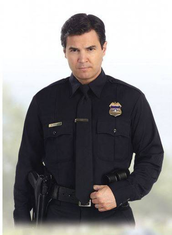United Uniform Mens L/S California Shirt 11135