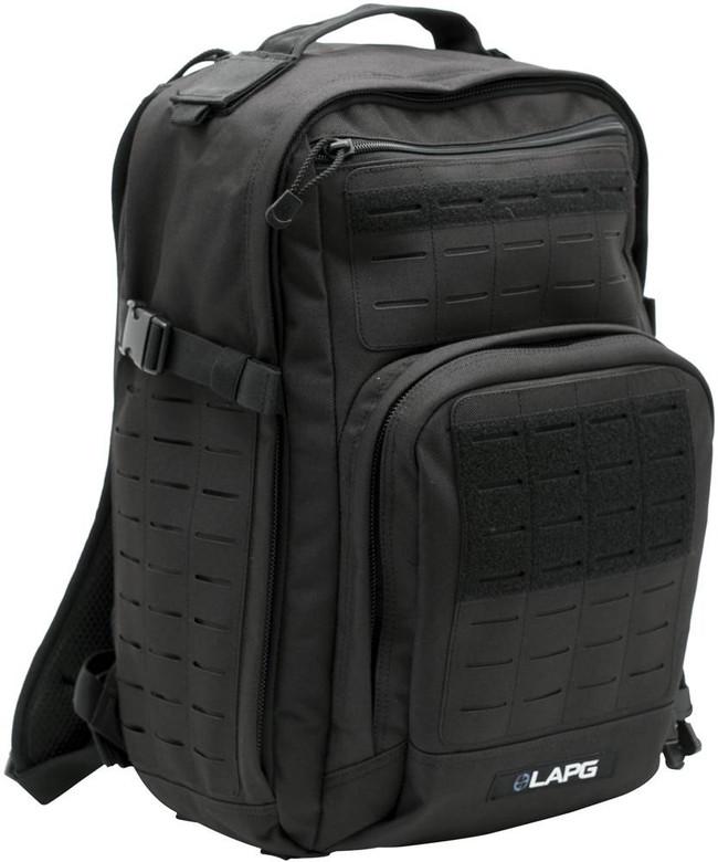 LA Police Gear Atlas™ 12 Hour Tactical Backpack - Black
