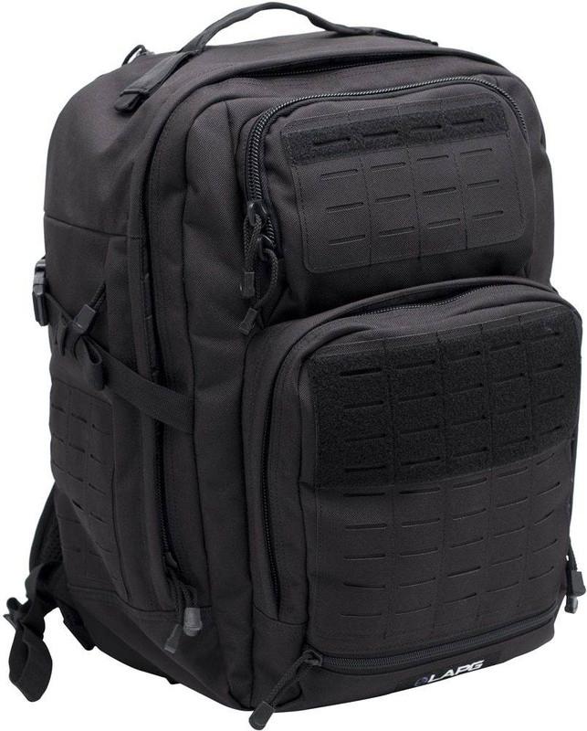 LA Police Gear Atlas™ 24 Hour Tactical Backpack - Black