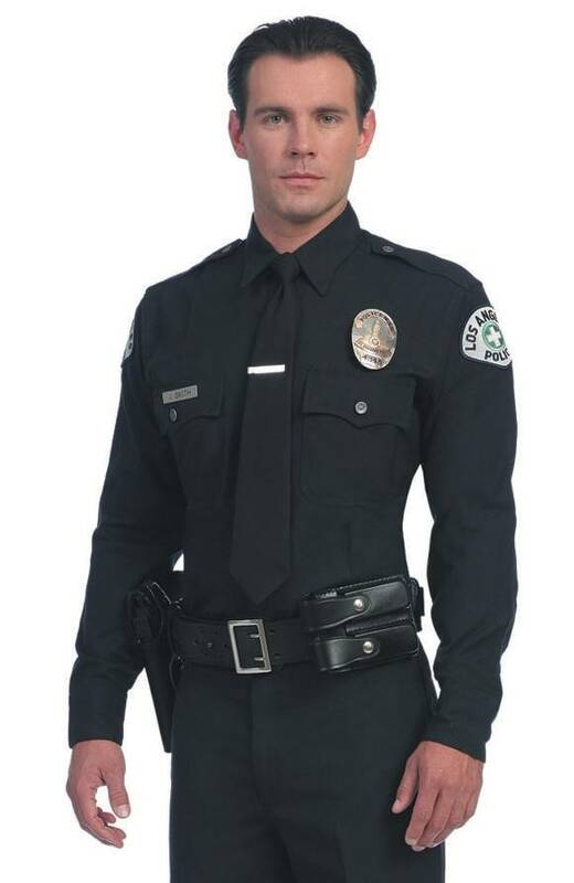 United Uniform LAPD L/S Class A Shirt 11001