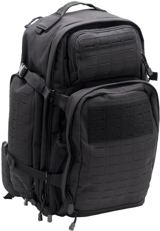 LA Police Gear Atlas™ 72 Hour Tactical Backpack - Black