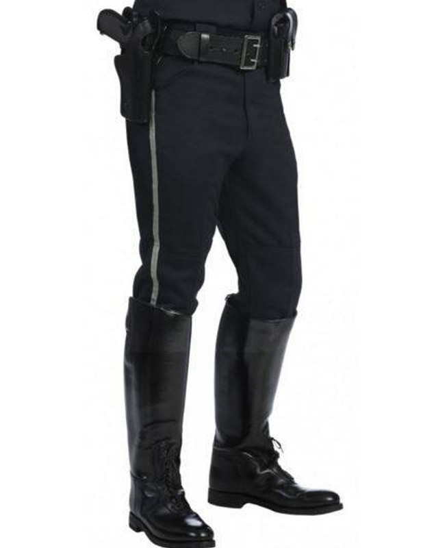 United Uniform 100percent Polyester Motorcycle Breeches POLY-BREECHES