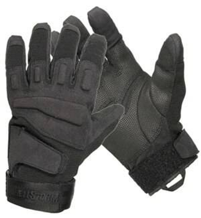 Blackhawk SOLAG Special Ops Light Assault Glove Full Finger - Black 8063BK