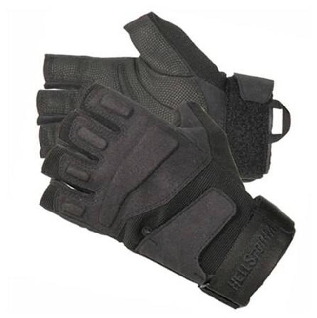 Blackhawk SOLAG Special Ops Light Assault Glove 1/2 Finger - Black 8068