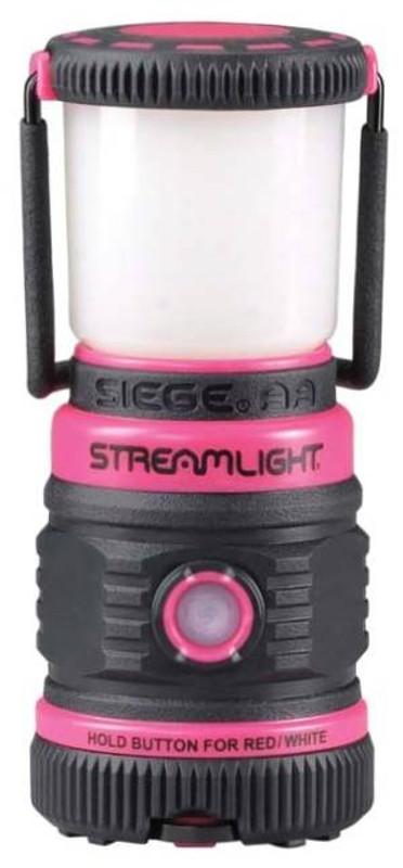 Streamlight The Siege AA Ultra-Compact Pink Lantern 44944 080926449442