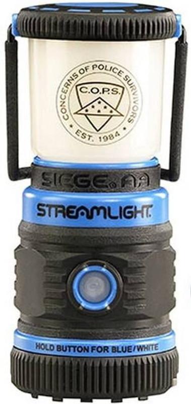 Streamlight Siege AA Blue 44949 080926449497