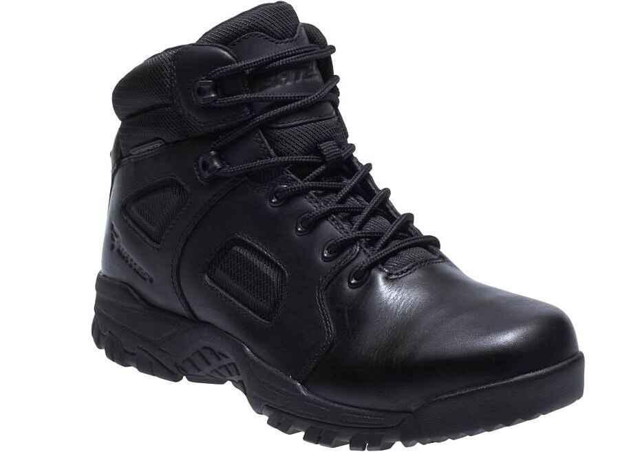 Bates Black Siege Mid Waterproof Black Boot