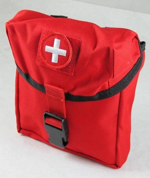 Elite First Aid, Inc. New Platoon First Aid Kit | Red |