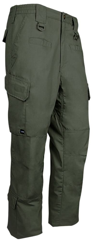 LA Police Gear Men's Operator Pant with Lower Leg Pockets | Charcoal | 42/34 | Cotton/Polyester