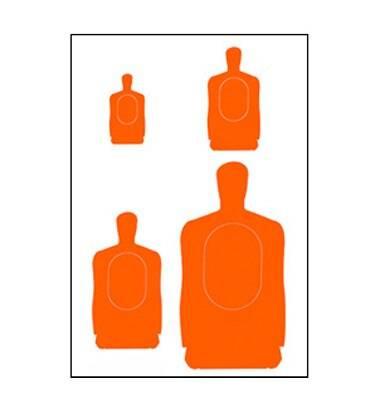 Law Enforcement Targets, Inc. APG Multi-Target - Minimum Quantity of 25 |