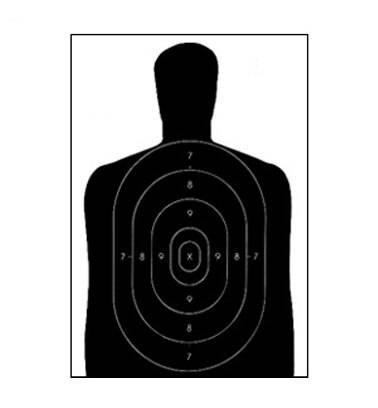 Law Enforcement Targets, Inc. Economy Targets - Minimum Quantity of 25 | Green |