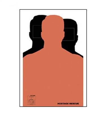 Law Enforcement Targets, Inc. Dual Hostage Target - Minimum Quantity of 25 |