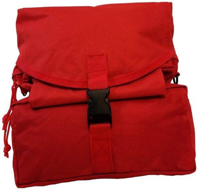 Elite First Aid, Inc. M3 Medic Bag | Red | Nylon/Rubber/Stainless Steel |