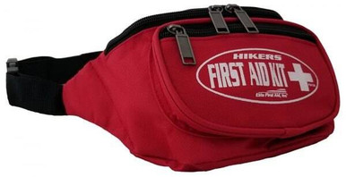 Elite First Aid, Inc. Hikers First Aid Kit | Black |