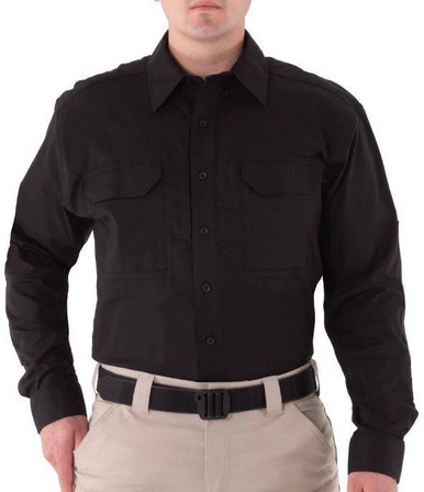 First Tactical Men's V2 Tactical Long Sleeve Shirt | OD Green | 2X-Large | LAPoliceGear.com