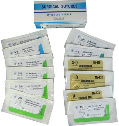 Elite First Aid, Inc. Assorted Sutures (Box of 12) |