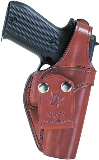 Bianchi 3S Pistol Pocket Inside Waistband Holster | Leather | LAPoliceGear.com
