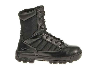Bates Women's 8″ Tactical Sport Side Zip Boot | Black | 10-Standard | Nylon/Leather/Rubber | LAPoliceGear.com