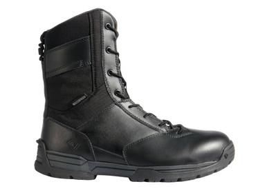 First Tactical Men's 8″ Waterproof Side Zip Duty Boot | Black | 9-Wide | Leather/Rubber | LAPoliceGear.com