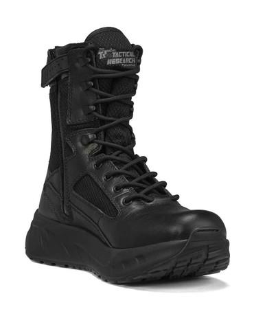 Tactical Research Men's Black FATT MAXX 8Z WP 8″ Maximalist Waterproof Tactical Boot | 7.5-Wide | Nylon/Leather/Rubber | LAPoliceGear.com