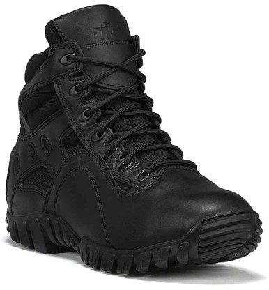 Tactical Research Men's Black Khyber TR966 Hot Weather Lightweight Tactical Boot | 14-Wide | Nylon/Leather | LAPoliceGear.com